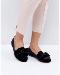 Office - Fortress Bow Flat Shoes - Lyst