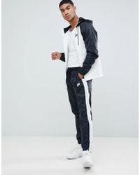 Nike - Colour Block Tracksuit Set In Black 928119-011 - Lyst