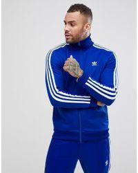 adidas Originals - Adicolor Beckenbauer Track Jacket In Blue Cw1252 - Lyst