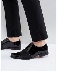 KG by Kurt Geiger - Kg By Kurt Geiger Patent Lace Up Shoes - Lyst
