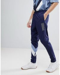 PUMA - Heritage Joggers In Navy 57500606 - Lyst