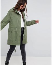 ASOS | Summer Parka With Jersey Lining | Lyst