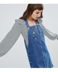 4c908ffd6c35 Oasis Denim Shirt Dress - Blue in Blue - Lyst