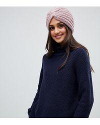 Stitch & Pieces - Wrap Front Hat - Lyst