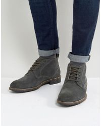 Levi's - Huntington Suede Boots In Black - Lyst