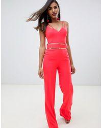 8fa2c1aba336 Lyst - Women s Forever Unique Jumpsuits Online Sale