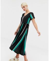 2nd Day - 2ndday Nicole Fade Printed Dress With Frill Detail - Lyst