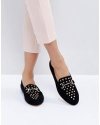 Office - Flash Studded Loafers - Lyst