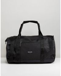 Nicce London - Holdall In Black - Lyst