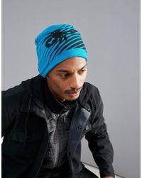 Spyder - Throwback Beanie Hat - Lyst