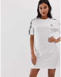 445f23be61 PUMA - Zebra Prin Details T-shirt Dress - Lyst