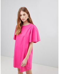 Vila - Shift With Voluminous Sleeves - Lyst