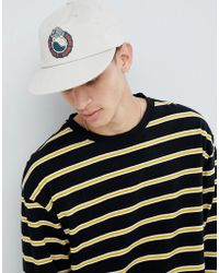 Globe - Printed Low Rise Snapback In White - Lyst