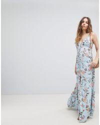 Flynn Skye - Floral Maxi Dress - Lyst