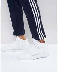 adidas Originals - Tubular Shadow Trainers In White - Lyst
