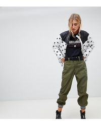 Reclaimed (vintage) - Revived Cargo jogger With Tipped Cuff - Lyst