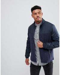 Original Penguin - Towelling Jacket In Navy - Lyst