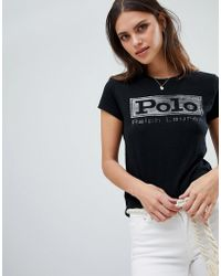 Polo Ralph Lauren - Box Logo T-shirt - Lyst