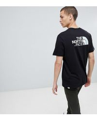 The North Face - Exclusive To Asos Easy T-shirt In Black - Lyst