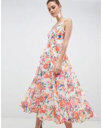 Coast - Shannon Tropicana Dress - Lyst