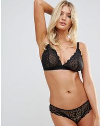 ASOS - Fuller Bust Rita Lace Mix & Match Triangle Bra - Lyst