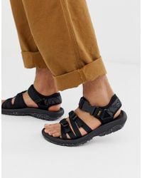 Teva - Hurricane Alp Tech Sandals In Black - Lyst