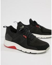 Camper - Drift Chunky Sole Trainers In Black - Lyst