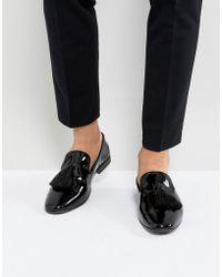 KG by Kurt Geiger - Kg By Kurt Geiger Patent Tassel Loafers - Lyst