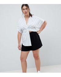ASOS - Asos Design Curve Culotte Shorts - Lyst