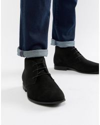 ASOS Chukka Boots In Black Canvas find great cheap get to buy discount supply sale sneakernews hyk7W