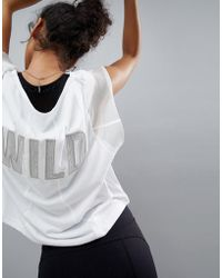 Free People - Movement Wild Mesh Graphic Tee - Lyst