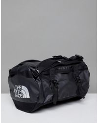 The North Face - Base Camp Duffel Bag Extra Small 31 Litres In Black - Lyst
