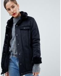 Native Youth - Premium Sherpa Drawstring Jacket - Lyst