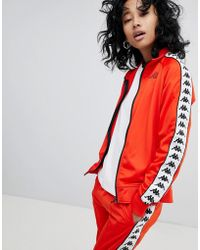 Kappa - Track Jacket Co-ord With Logo Taping - Lyst