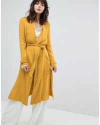 River Island - Belted Duster Coat - Lyst