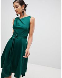 Coast - Savannah Soft Halter Midi Dress - Lyst