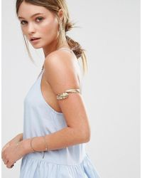 New Look - Leaf Wrap Armcuff - Lyst