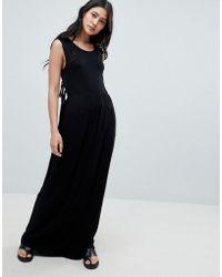 NYTT - Madelyn Side Tie Maxi Dress - Lyst