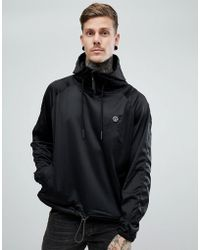 Religion | Hoodie With Funnel Neck In Tricot | Lyst