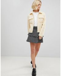 Vero Moda   Floral Flippy Skirt   Lyst
