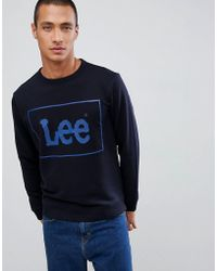 Lee Jeans - Jeans Box Logo Jumper - Lyst