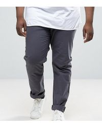 Another Influence - Plus Tie Waist Slim Chino Trousers - Lyst