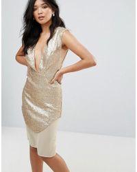 Glamorous - Metallic Dress - Lyst