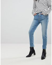 7 For All Mankind - Josefina Fitted Boyfriend Jeans - Lyst