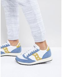 Saucony - Jazz Original Trainers In White S70368-12 - Lyst