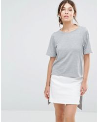 Good Vibes, Bad Daze - Good Vibes Bad Daze Dip Hem T-shirt - Lyst