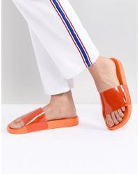 Monki - Plexi Slider In Orange - Lyst