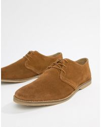 903e14c0d96 Steve Madden Qhamtim Leather Shoes In Tan in Brown for Men - Lyst