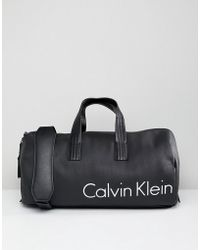 CALVIN KLEIN 205W39NYC - Duffle Bag With Logo - Lyst