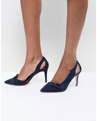 Coast - Bow Heel Shoes - Lyst